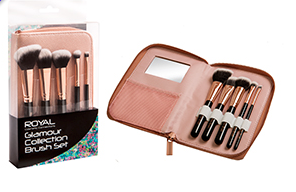 Royal Glamour Collection Brush Set
