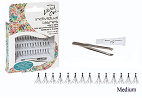 Royal Individual Eyelashes Medium