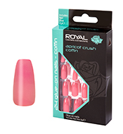 Royal Nail Tips Apricot Crush Coffin NNAI289 1x6