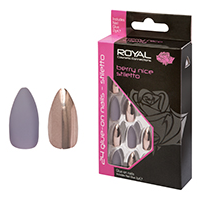 Royal Nail Tips Berry Nice Stiletto NNAI283 1x6