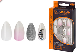 Royal Nail Tips Can-Can NNAI254 1x6