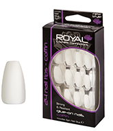 Royal Nail Tips Coffin Regular 1x6