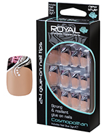 Royal Nail Tips Cosmopolitan 1x6