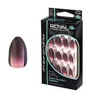 Royal Nail Tips Dark Illusion Stiletto 1x6