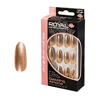 Royal Nail Tips Dazzling Almond NNAI276 1x6