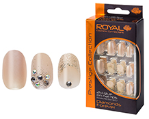 Royal Nail Tips Diamonds Forever NNAI245 1x6