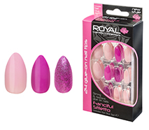 Royal Nail Tips Fanciful Stiletto NNAI267 1x6