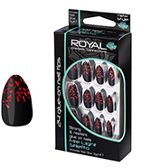 Royal Nail Tips Firelight Stiletto 1x6