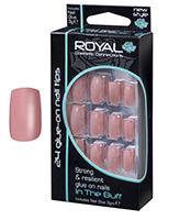 Royal Nail Tips In The Buff 1x6