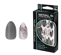 Royal Nail Tips Marble Mayhem Stiletto 1x6