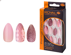 Royal Nail Tips Passion Stiletto (Pink) NNAI250 1x6