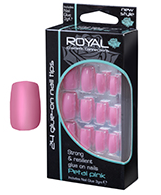 Royal Nail Tips Petal Pink 1x6