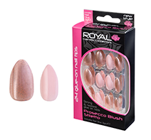 Royal Nail Tips Prosecco Blush Stiletto 1x6
