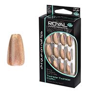 Royal Nail Tips Twinkle Twinkle Coffin 1x6