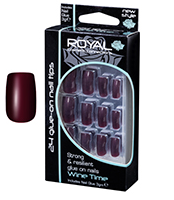 Royal Nail Tips Wine Time 1x6