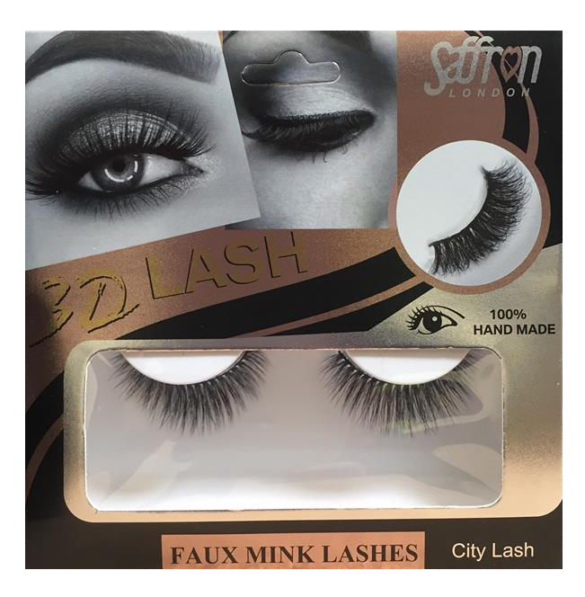 Saffron 3D Eyelashes City Lash