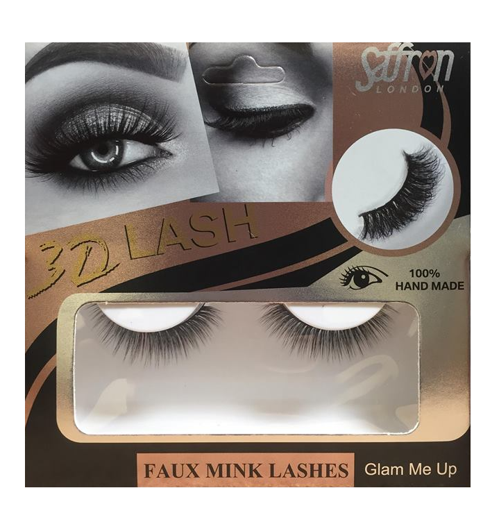 Saffron 3D Eyelashes Glam Me Up