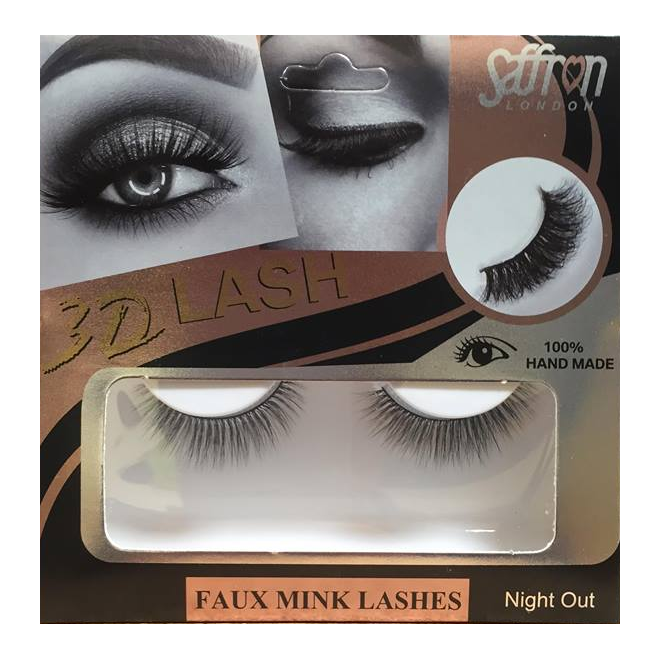 Saffron 3D Eyelashes Night Out