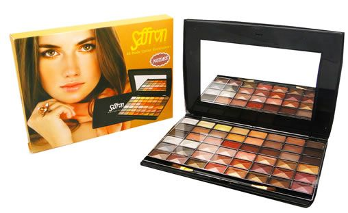 Saffron 48 Nude Colour Eyeshadows