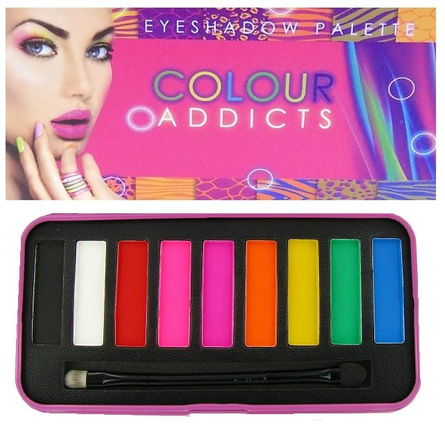 Saffron Colour Addicts Eyeshadow Palette