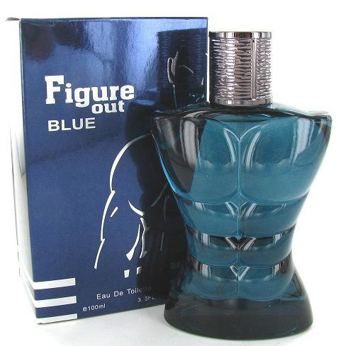 Saffron Fragrance Figure Out Blue 100ml EDT Mens Aftershave