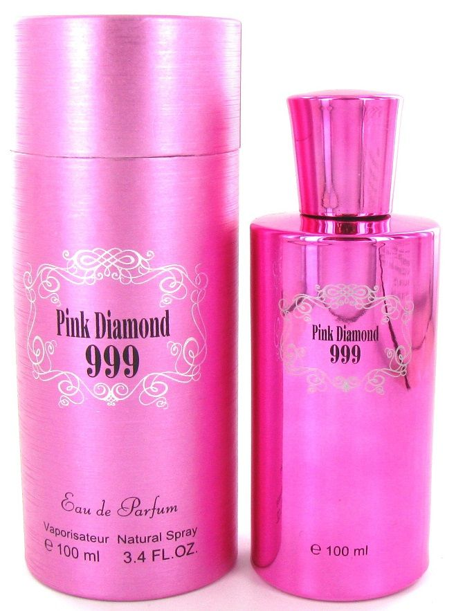 Saffron Fragrance Pink Diamond 999 100ml EDP Ladies Perfume