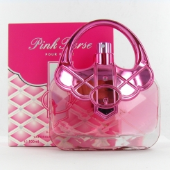 Saffron Fragrance Pink Purse EDP 100ml Ladies Perfume