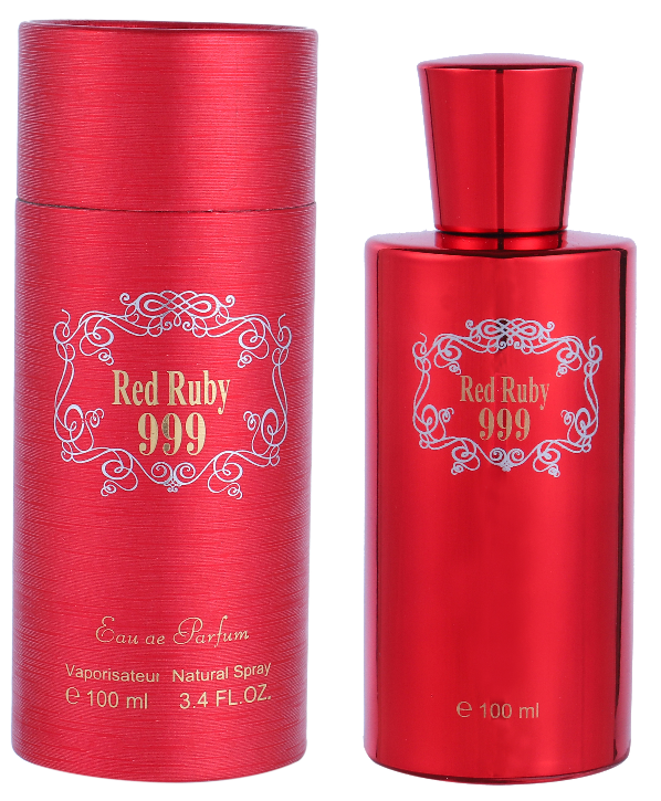Saffron Fragrance Red Ruby 999 100ml EDP Ladies Perfume