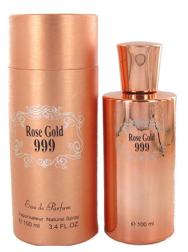 Saffron Fragrance Rose Gold 999 100ml EDP Ladies Perfume