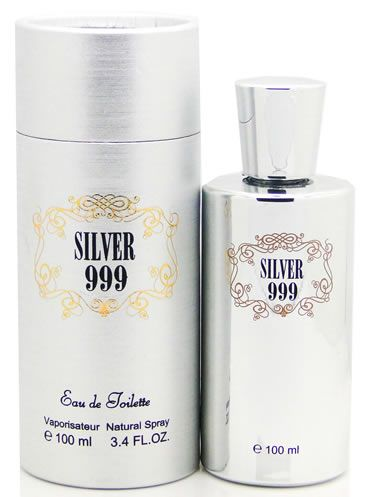 Saffron Fragrance Silver 999 EDT Spray 100ml Mens