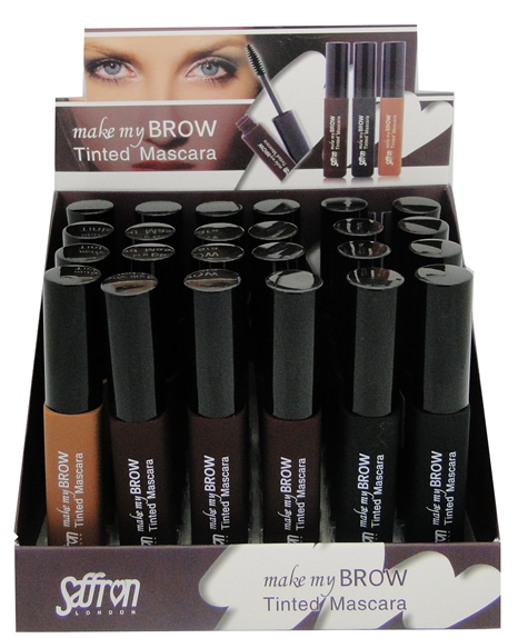 Saffron Make My Brow Tinted Eyebrow Mascara 1x24