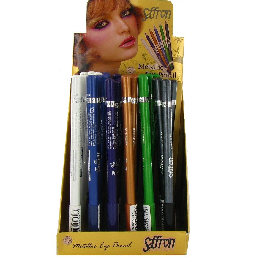 Saffron Metallic Eye Pencil 1x36