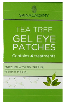 Skin Academy Gel Eye Patches Tea Tree Oil