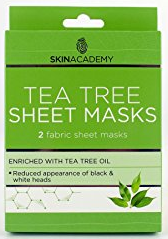 Skin Academy Sheet Mask Tea Tree
