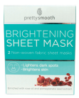 Skin Academy Sheet Masks Brightening With Rose Oil and Pomegranate Seed