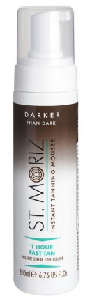 St Moriz Darker Than Dark Fake Tan Mousse 200ml