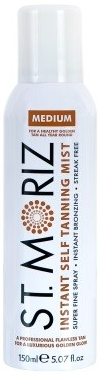 St Moriz Instant Self Tanning Mist Medium 150ml