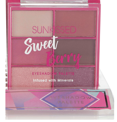 Sunkissed Eyeshadow Palette Sweet Berry