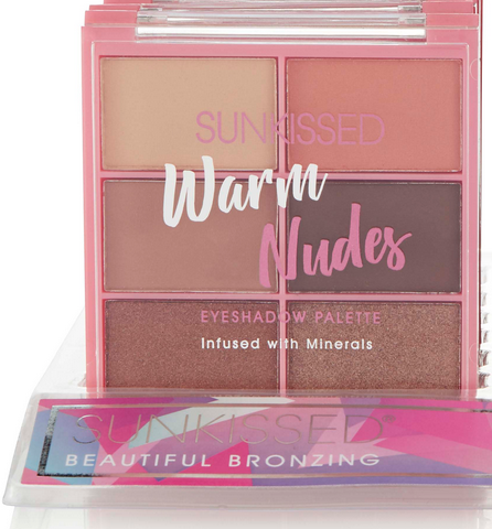 Sunkissed Eyeshadow Palette Warm Nudes