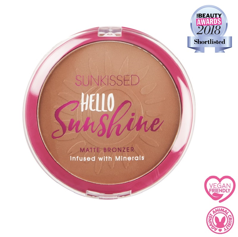 Sunkissed Hello Sunshine Matte Bronzer Vegan Friendly