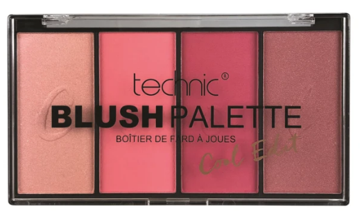 Technic Blush Palette Cool Edition