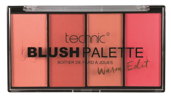 Technic Blush Palette Warm Edition