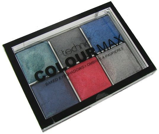 Technic Colourmax Eyeshadow Palette Boogie Nights 1x1