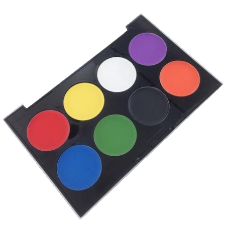 Technic Face Paint Palette Halloween