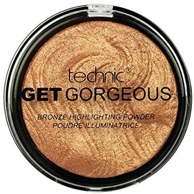 Technic Get Gorgeous Highlighting Powder 24ct Gold 1x1