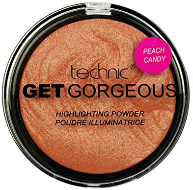 Technic Get Gorgeous Highlighting Powder Peach Candy 1x1