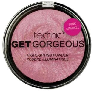 Technic Get Gorgeous Highlighting Powder Pink Sparkle 1x1