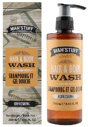 Technic Man Stuff Hair & Body Wash 250ml