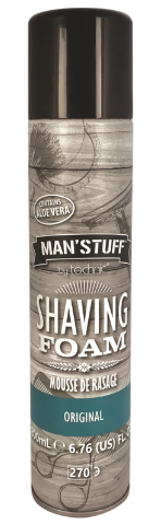 Technic Man Stuff Shaving Foam 200ml