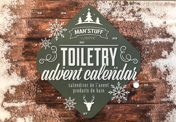 Technic Man Stuff Toiletry Advent Calendar Christmas